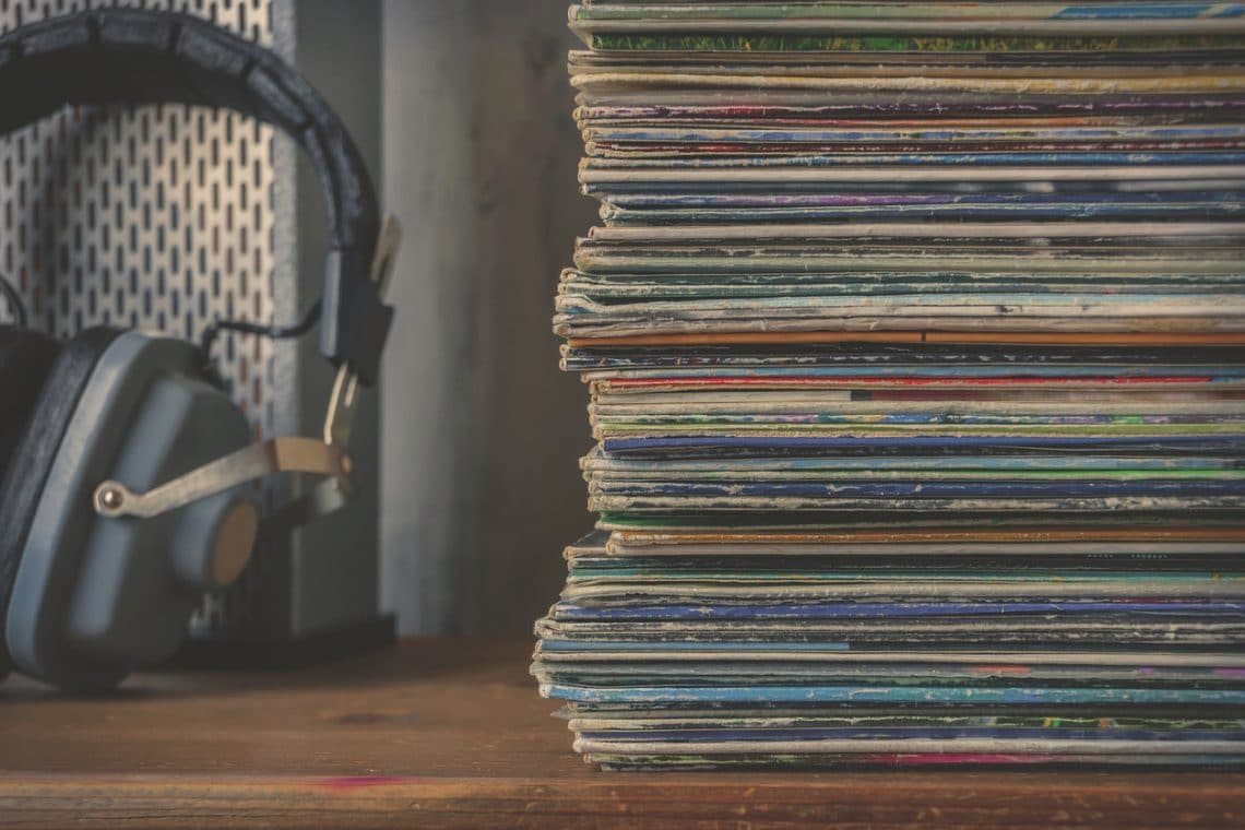 Detroit Radio Stack of Records