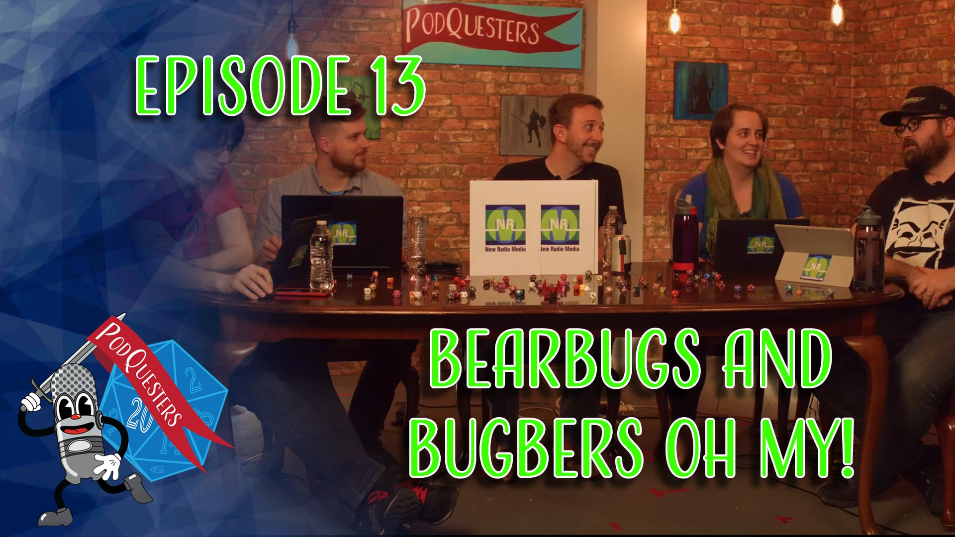 Podquesters - Episode 13: Bearbugs and Bugbers Oh My!