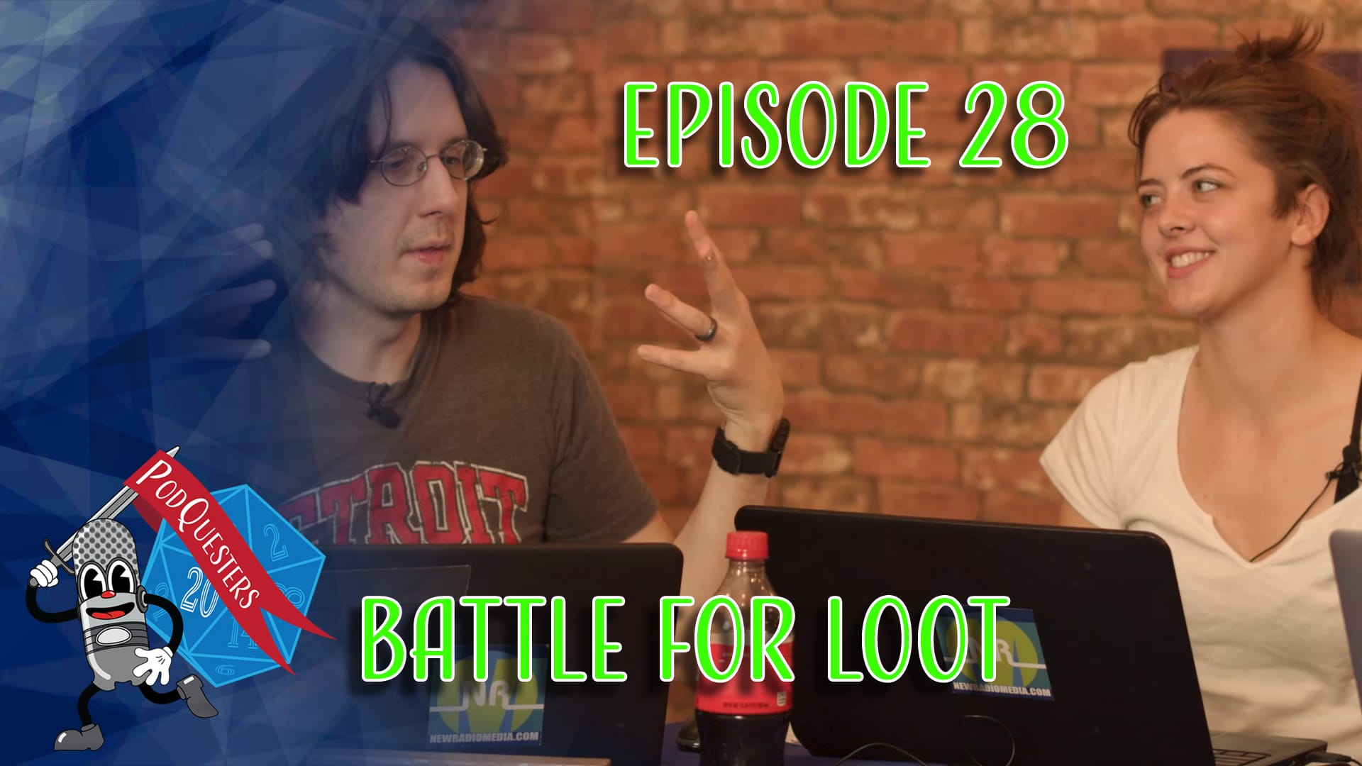 Podquesters - Episode 28: Battle For Loot