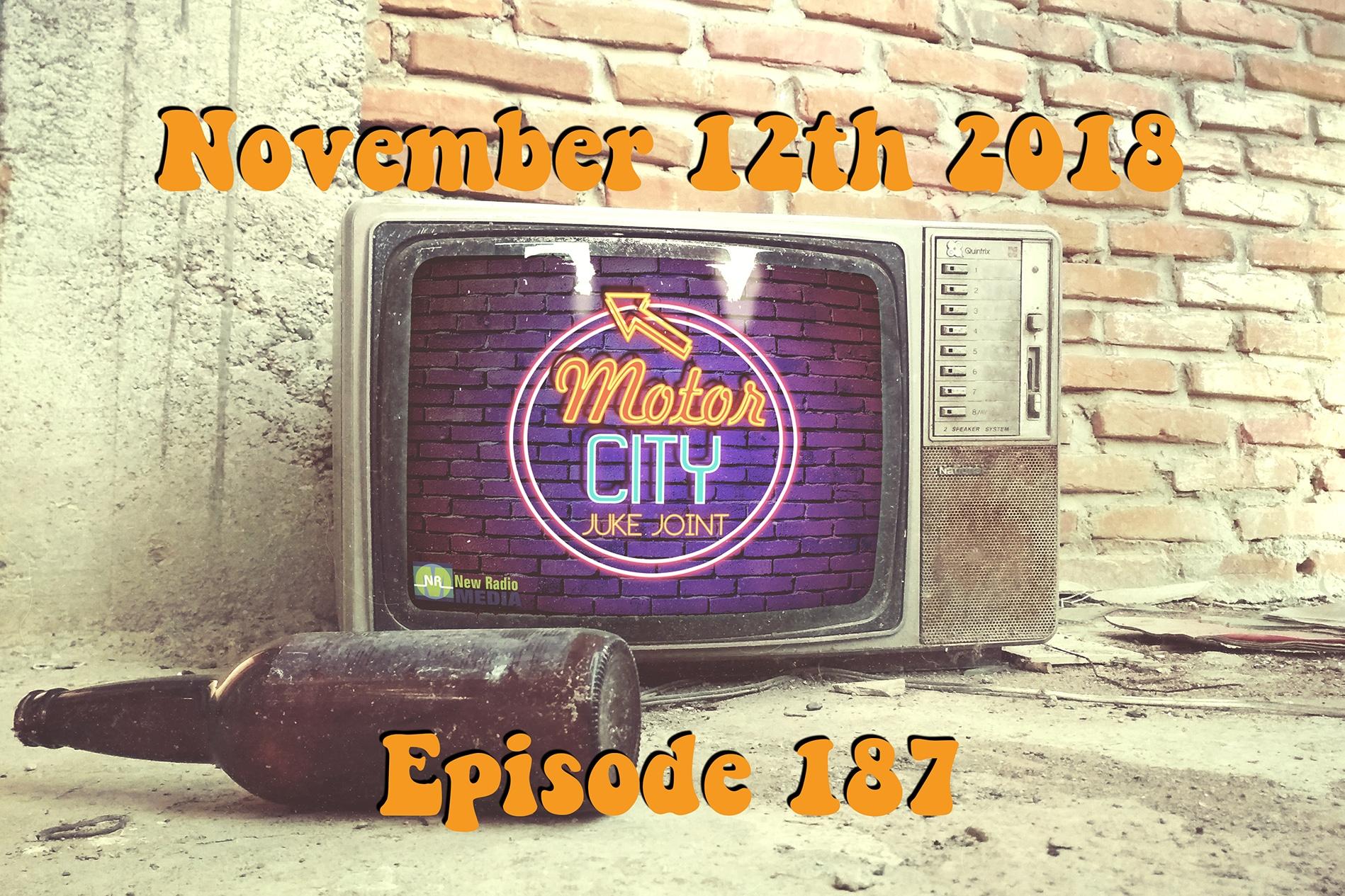 Motor City Juke Joint - Episode 187