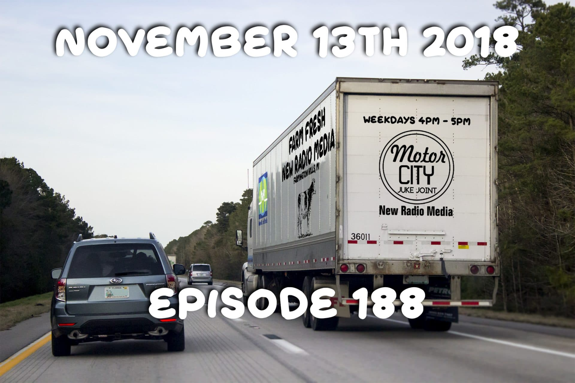 Motor City Juke Joint - Episode 188