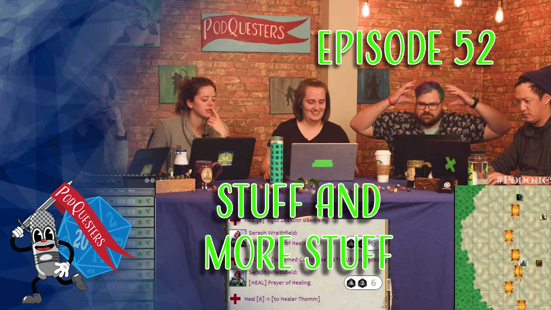Podquesters - Episode 52: Stuff and More Stuff
